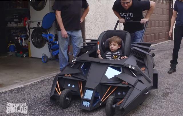 batman tumbler baby stroller