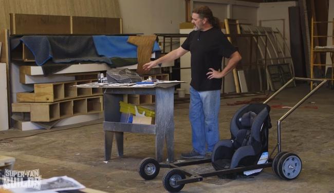 batmobile stroller frame
