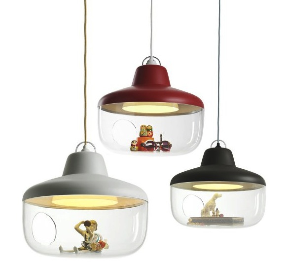 Put Whatever You Want in this Hanging Lamp