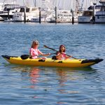 Inflatable Clear Bottomed Kayak