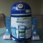 R2-D2 Diaper Cake