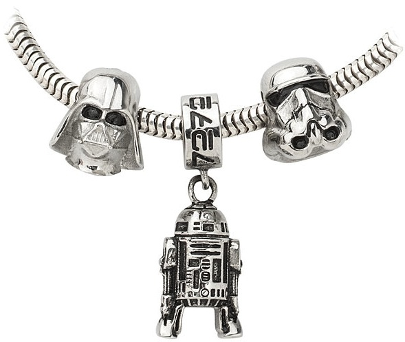 star wars charms hanging r2