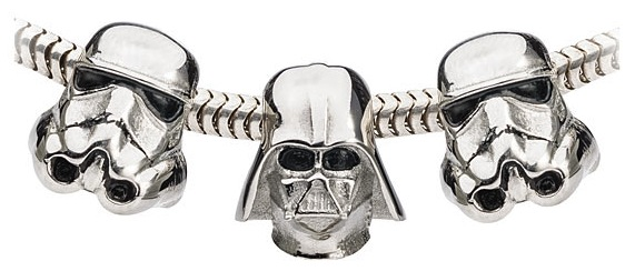 star wars charms vader trooper
