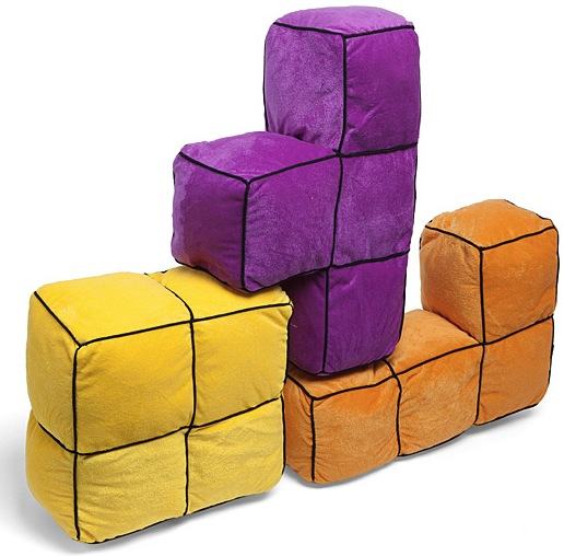 Tetris 3D Cushions: Where Did I Leave that Straight One?