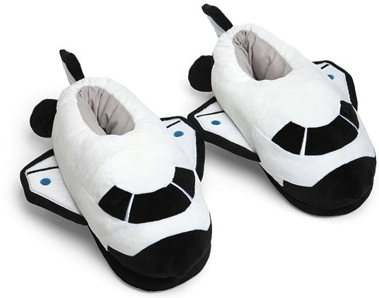 spaceship slippers