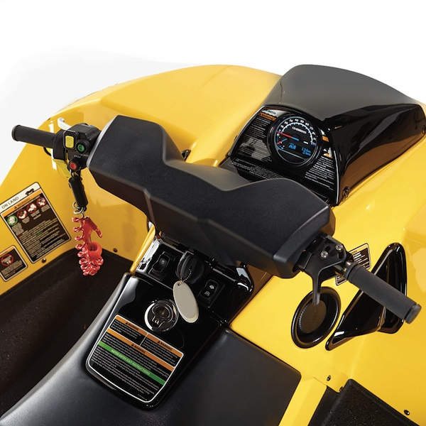 amphibious atv controls