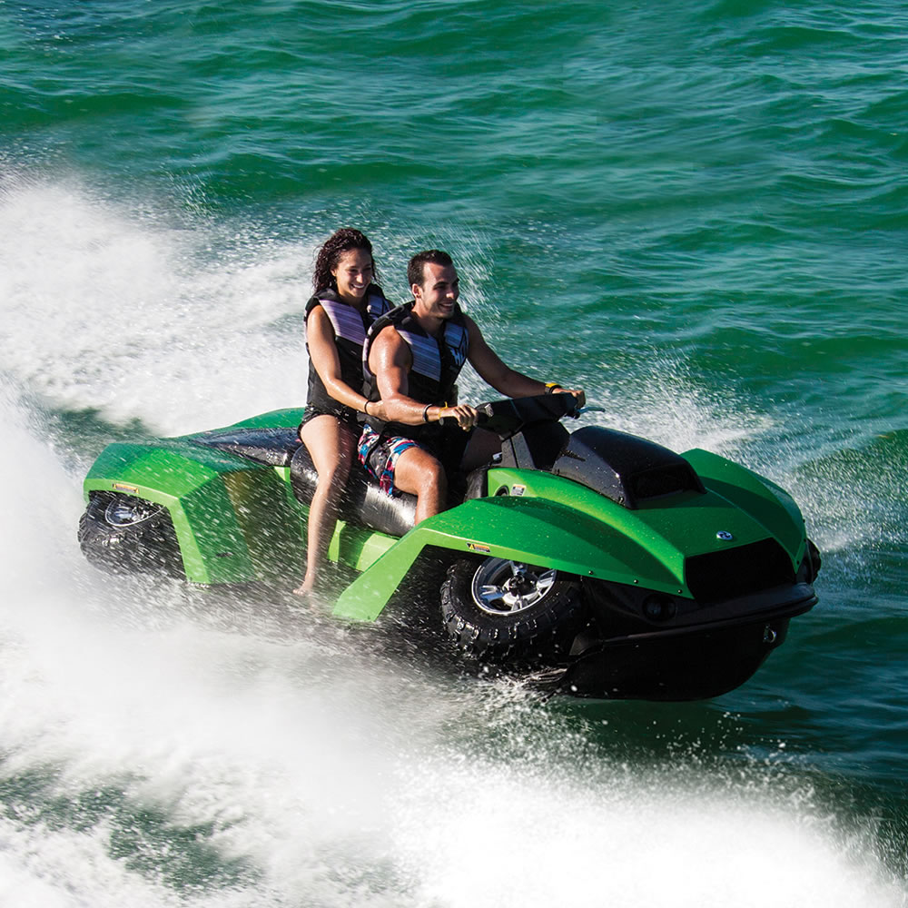 Awesome Amphibious ATV Arrives Almost Anywhere