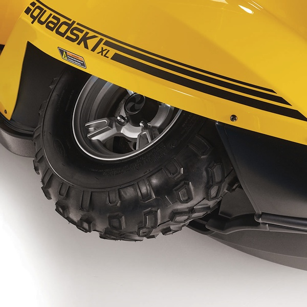 atv retractable wheel