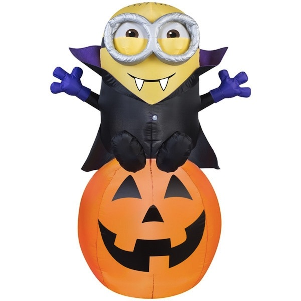 Inflatable Minion Vampire Halloween Decoration