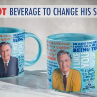 mr rogers sweater mug
