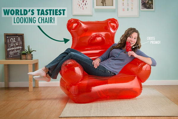 gummy bear chair