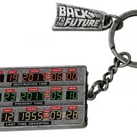 back to the future time circuit keychain