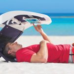 Beach Sunshade with iPad Holder