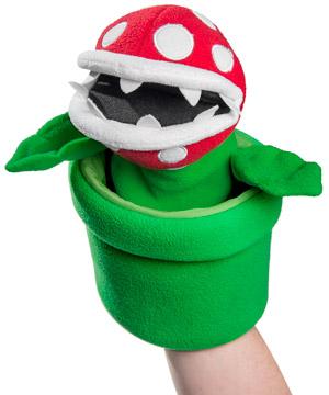 Super Mario Piranha Plant Puppet