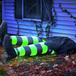 Inflatable Kicking Wicked Witch Legs