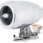 $15,000 Coffee Maker Shaped Like a Jet Engine