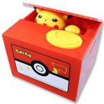 Pikachu Coin Stealing Bank