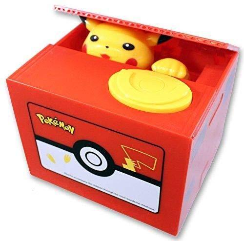 Pikachu Coin Stealing Bank