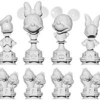 mickey mouse chess pieces