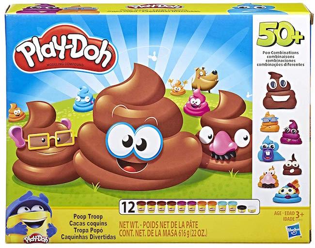 Play Doh Poop Troop