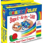 Crayon Clay- Easiest Way to Make Your Own Crayons