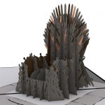 Game of Thrones Iron Throne Pop-Up Greeting Card