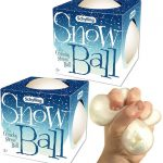 Squeeze Snow with a Snowball Squishy Ball