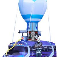 Epic 17.5 Foot Tall Inflatable Fortnite Battle Bus