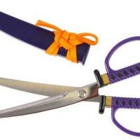 samurai sword scissors