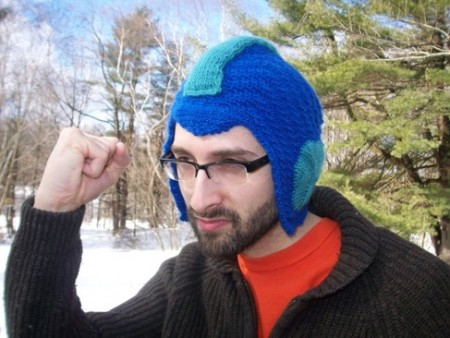 Mega Man Hat is Video Game Chic