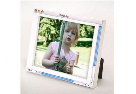 Analog Digital Picture Frame