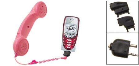 Add a Rotary Phone Handset to your Cell Phone