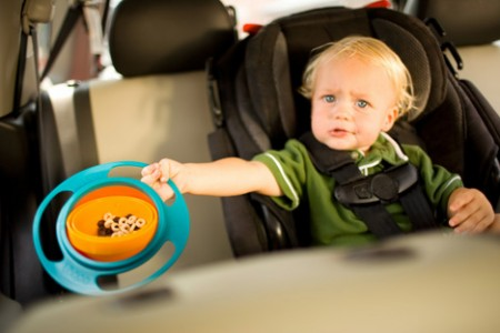 Loopa Spillproof Bowl for Kids is Gyro Balanced