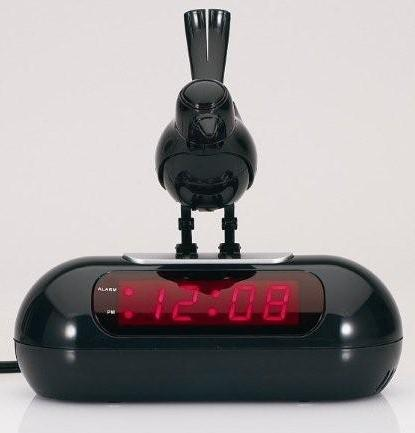 Bird Sound Alarm Clock (Now with Bird on Top!)