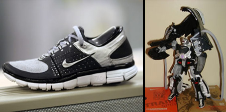 Nike Transformers Sneakers Really Transform!
