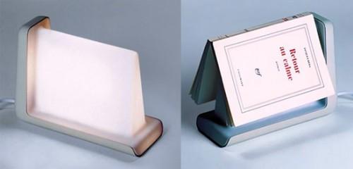 Novel Idea: Book Sensitive Reading Lamp