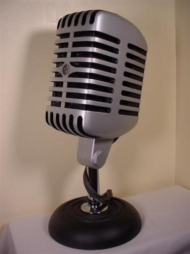 Old School Microphone PC Case Mod