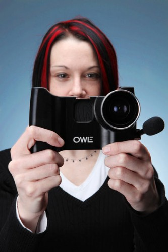 OWLE Adds a Boom Mic and Wide Angle Lens to your iPhone