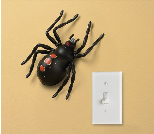 Remote Controlled Wall Crawling Spider Toy