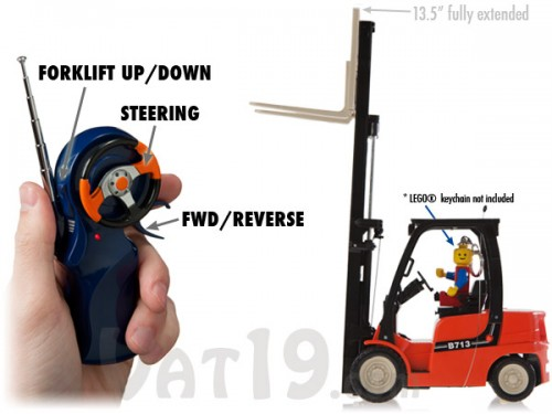 R C Toy Forklift Is A Real Working Mini Forklift