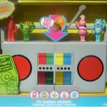Yo Gabba Gabba DJ Lance Boombox iPod Speakers