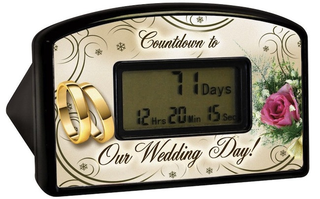 Wedding Countdown Clock