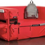 Eastpak Backpack Couch Has Lots of Pockets