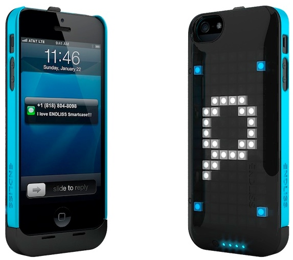 led notification iphone iphone with led notification display craziest gadgets 12567