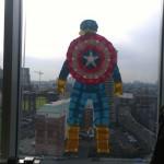 Captain America: Post-It Style